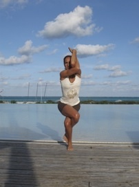 founder of Newark Yoga Movement